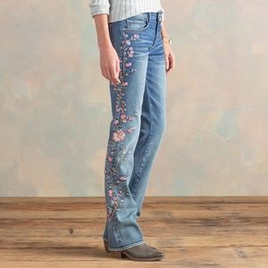 Driftwood Kelly Cherry Blossom Jeans sz.26 NWT!!